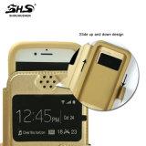 Cuoio universale dell'unità di elaborazione del silicone di Shs con la cassa del telefono delle cellule del basamento per Samsung S7