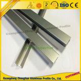 Aufgetragenes anodisierenküche-Aluminiumstrangpresßling-Profil für Küche-Möbel