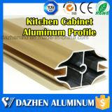 キャビネット・フレームの端のプロフィールのためのアルミニウムプロフィールの家具の使用