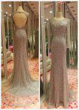 Платье вечера золота, платье выпускного вечера красного цвета вина, голубое платье вечера, серое платье вечера
