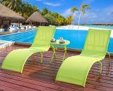 Textilene 수영 Floding 로비 바닷가 로비 새총 의자