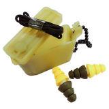 i doppi militari di colore 22dB usano i Earplugs del silicone per fucilazione
