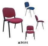 Nueva silla de la conferencia con la tarjeta de escritura y apoyabrazos para la oficina