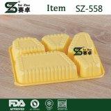 Wegwerfnahrungsmittelbehälter mit Kappe (