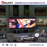Pantalla de visualización video de interior fija de pared del LED para hacer publicidad