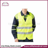 en ISO-20471:2013 der Normen-120g Erste HILFEen-reflektierende Sicherheits-Kleidung