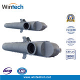 Wbz 900 반원형 쉘 모든 용접된 격판덮개 열교환기 또는 고압 또는 고열