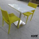 Верхние части таблицы твердой поверхностной домашней мебели белые