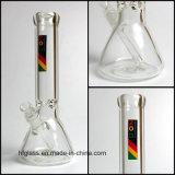 Hfy neue 12 Glaszoll Glaspfeife-an der Becher-Unterseite im 9mm Stärke Zob Glas Tabacco