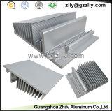알루미늄 알루미늄 밀어남 LED 열 싱크