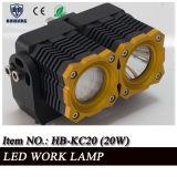 "Arbeits-Licht Traktor-Automobil2 "" 10W nachladbares des Portable-LED 12V LED"