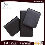 تصميم بسيطة أصليّة أسود جلد [لونغ كرديت كرد] محفظة لأنّ رجال