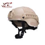 Воинский шлем 2000 Mich Ach с шлемом варианта действия держателя Nvg & бортового рельса