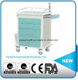 Het Karretje van de Behandeling van het Staal van de Apparatuur van het ziekenhuis