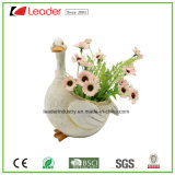 Plantadores de la estatuilla del pato del jardín de Polyresin de la Caliente-Venta para la decoración casera
