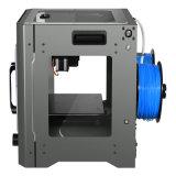 Impressora 3D da alta qualidade de Ecubmaker com extrusora dupla. Tela de OLED