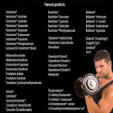 CAS 521-18-6 Stanolone Dht Raws androgène pour la masse musculaire de construction