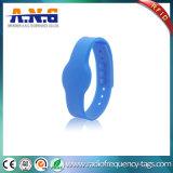 Wristbands do silicone de 13.56MHz RFID para o centro do banho da sauna