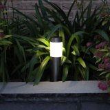 Edelstahl-Solarpfad-Rasen-Lampe