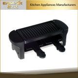 решетка 350W миниая электрическая Raclette для пользы 2 персон