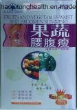 Ursprüngliche Frucht u. Gemüse-Taille und Abdomen, die Gewicht-Verlust-Produkt abnimmt
