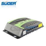 Controlador inteligente solar da potência cobrando de Suoer 12V 30A com relação dobro do USB (ST-C1230)