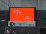 Tablilla de anuncios publicitaria a todo color al aire libre de LED de la alameda de compras P6