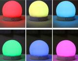 Indicatore luminoso variopinto ricaricabile del silicone dell'indicatore luminoso di umore