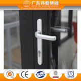 Europäische Doppelverglasung als Standardfertigung-Aluminium-Tür