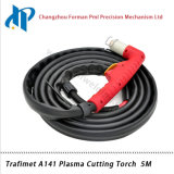 Сварочный огонь 5m плазмы Trafimet A141 портативный с центральным разъемом