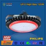 Boîtier élevé en gros de lumière de compartiment de 120W DEL