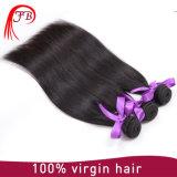 Armadura brasileña recta sedosa brasileña 100% del pelo humano de la extensión 8A del pelo de la Virgen de la venta al por mayor