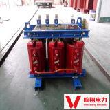 円環形状の変圧器か乾式の変圧器または電圧変圧器または変圧器