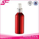 Bouteille en aluminium de parfum gentil dans la couleur rouge