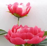 Única haste flor artificial/plástica/de seda do Peony (XF31021)
