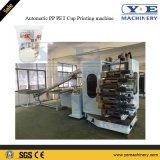 La machine d'impression automatique de récipient en plastique de picoseconde d'animal familier de pp avec UV sèchent