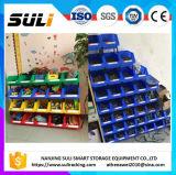 Rectángulo plástico de las piezas de los compartimientos de almacenaje del almacén