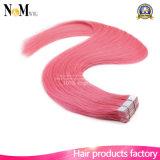 Cabelo por atacado da fita do plutônio das extensões do cabelo da fita do cabelo humano de Remy do Virgin da alta qualidade do cabelo dos produtos