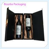 Doos van de Gift van de Fles van de Wijn van de Druk van de douane de Kleurrijke