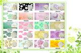 소형 갯솜 디자인 우표