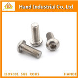 Tornillo de socket Hex del acero inoxidable de M10 ISO7380