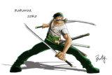 Spada di un pezzo di Cosplay del fumetto/spada visualizzazione di Roronoa Zoro/spada del Anime