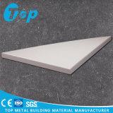 El panel sólido de aluminio modificado para requisitos particulares para la decoración de la pared interior y exterior