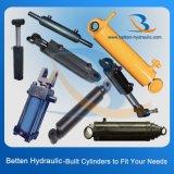 Cilindro hidráulico da única direção hidráulica ativa para o trator