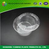 البلاستيك القابل للتصرف شفافة سلطة الحاويات