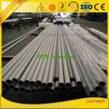 L'usine en aluminium fournissent la pipe en aluminium en aluminium de tube anodisée 6061 par 6063