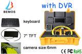 Câmera da inspeção da tubulação de DVR com teclado e tamanho da câmera de 6mm! !