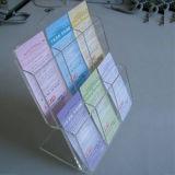 Knall-Broschüre-Acrylhalter, Ausstellungsstand bekanntmachend