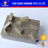 Segment van de Diamant van de Fabrikant van China het Professionele Snelle Scherpe Marmeren