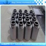 Elemento de filtro do aço inoxidável/elemento de Strainler